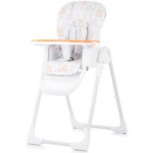 Столче за хранене Chipolino - Sweety, оранжево -1