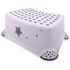 Стъпало за баня Lorelli Classic Stars - Бяло -1