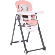 Столче за хранене Lorelli - Party, Party Blossom Leather -1