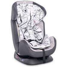 Столче за кола Lorelli - Galaxy, Grey Marble, 0-36 kg -1