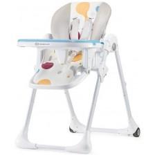 Столче за хранене KinderKraft Yummy - Шарено