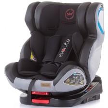 Столче за кола Chipolino - Evolute 360, 0-36 kg, с Isofix, карбон -1