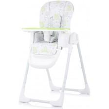 Столче за хранене Chipolino - Sweety, зелено -1