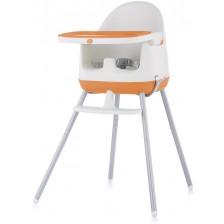 Столче за хранене 3 в 1 Chipolino - Пудинг, оранжево -1
