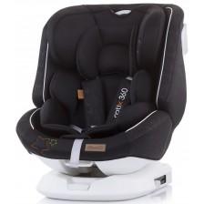 Столче за кола Chipolino - Ротикс 360, 0-36 kg, с Isofix, карбон -1