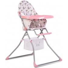 Стол за хранене Moni - Scaut, розов -1