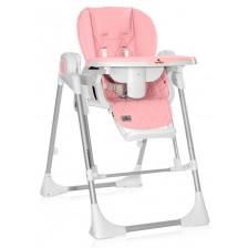 Столче за хранене-люлка Lorelli - Camminando, Pink -1