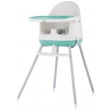 Столче за хранене 3 в 1 Chipolino - Пудинг, зелено -1