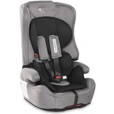 Столче за кола Lorelli - Harmony IsoFix,Steel&Black, 9-36 kg -1