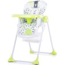 Столче за хранене Chipolino - Макси, зелено
