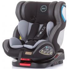 Столче за кола Chipolino - Evolute 360, 0-36 kg, с Isofix, асфалт -1