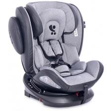 Столче за кола Lorelli - Aviator SPS IsoFix, Black&Light Grey, 0-36 kg -1
