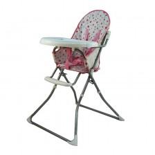 Стол за хранене Azaria - Feed Me, розов -1