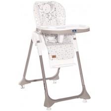 Столче за хранене Lorelli - Felicita, бежово със слонче -1