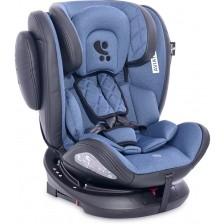 Столче за кола Lorelli - Aviator SPS IsoFix, Black&Blue, 0-36 kg -1