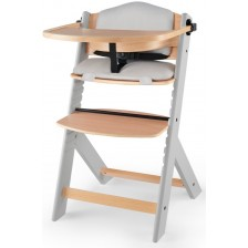 KinderKraft столче за хранене + възглавница ENOCK сиво -1