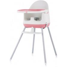 Столче за хранене 3 в 1 Chipolino - Пудинг, розово -1