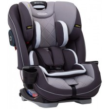 Столче за кола Graco - Slimfit Lx IsoCatch, 0-36 kg, Iron  -1