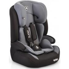 Столче за кола Moni - Armor, 9-36 kg, тъмносив -1