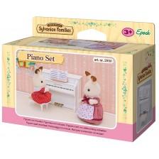 Фигурка за игра Sylvanian Families - Пиано -1