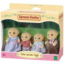 Комплект фигурки Sylvanian Families - Семейство жълти лабрадори -1