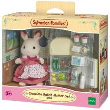 Комплект фигурки Sylvanian Families Furniture - Мама зайка, Chocolate -1