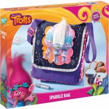 Творчески комплект Totum Trolls - Декорирай сам бляскава чанта -1