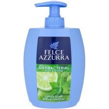 Течен сапун Felce Azzurra - Мента и лайм, 300 ml -1