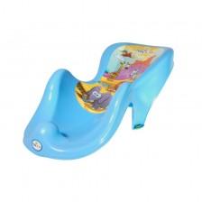 Подложка за къпане Tega Baby Анита - Сафари, Синя -1