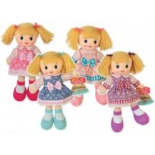 Текстилна кукла RS Toys - 30 cm, асортимент -1