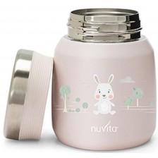 Термо кутия Nuvita - 300 ml, розова -1