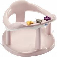 Седалка за къпане Thermobaby, Бебешко розово -1
