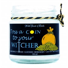 Ароматна свещ The Witcher - Toss a Coin to Your Witcher, 106 ml -1