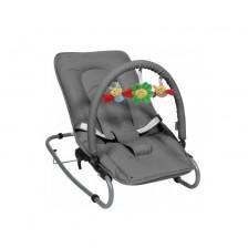 Бебешки шезлонг Topmark - Toby, Grey -1