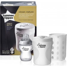 Стерилизатор Tommee Tippee - Closer to Nature, за едно шише -1