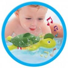 Плуващата и пееща Костенурка Tomy Toomies -1