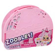 Трансформираща се чанта Spin Master Zoobles - Животинчета, с 3 топчета -1