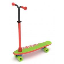 Тротинетка/скейт 2 в 1 Chillafish SkatieScootie - RedMix -1