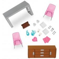 Комплект мини мебели Lori Dolls - Трапезария за кукли -1
