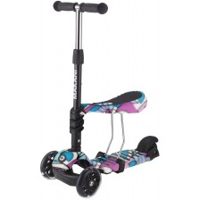 Тротинетка Makani - Ride and Skate 3 в 1, Picasso -1