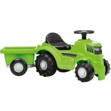Трактор с ремарке за бутане Ecoiffier - Ride-On, 81 cm -1