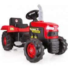 Трактор с педали Dolu, червен -1