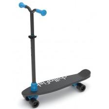 Тротинетка/скейт 2 в 1 Chillafish SkatieScootie - BlackMix -1