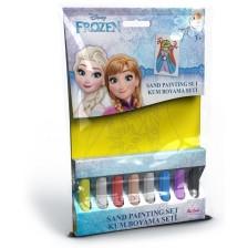 Творчески комплект за оцветяване с пясък Red Castle - Frozen, Елза и Ана, с 1 картина -1