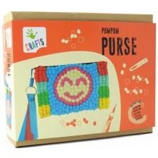 Творчески комплект Andreu toys - Портмоне с помпони -1