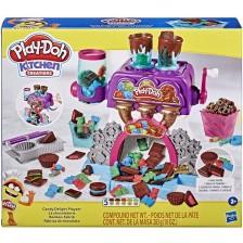 Творчески комплект Hasbro Play-Doh - Фабрика за бонбони -1