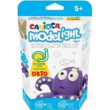 Творчески комплект Carioca Modelight PlayBox - Октопод -1