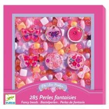Творчески комплект за бижута Djeco Fancy Beads - Пеперудки -1