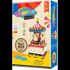 Творчески комплект Colorino Hobby - Направи си сам музикална кутия въртележка -1