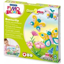 К-кт глина Staedtler Fimo Kids, 4x42g, Butterfly -1